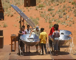 """Solar cooking was great because we cooked our own food"""