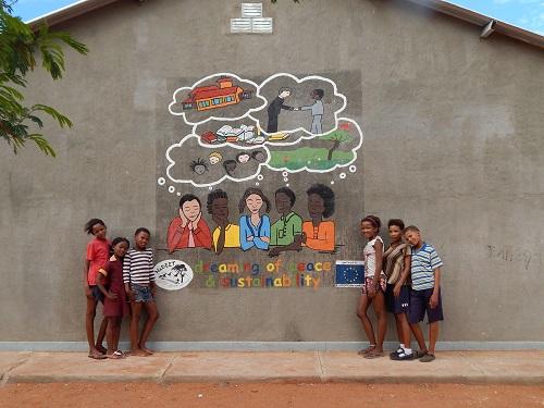 Dream mural in Gochas