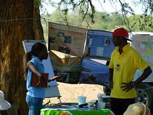 NaDEET team in Ndonga Linena
