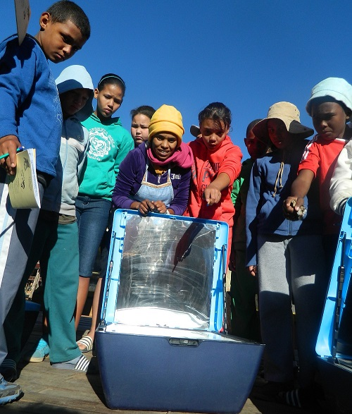 Fun with solar ovens