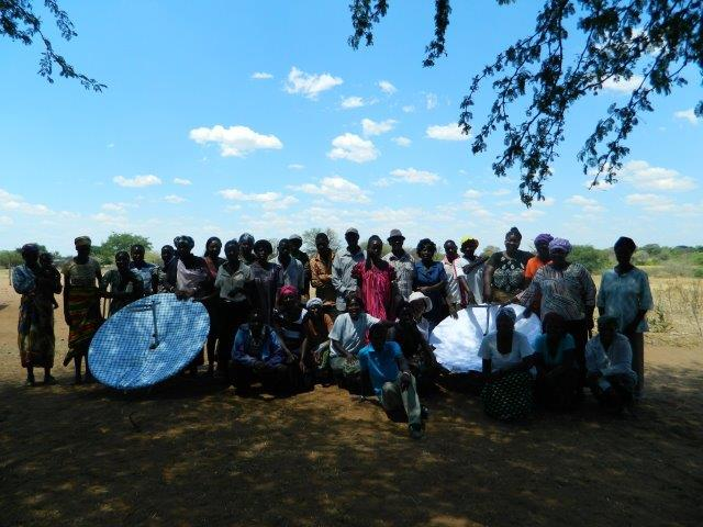 Outreach group in the Kavango East Region