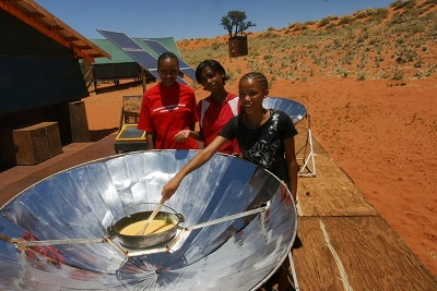 """The best thing at NaDEET was to learn about the many different ways to use solar cookers"""