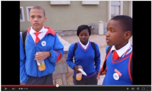 Hear what schoolchildren from Swakopmund  thought of the July 2014 energy efficiency workshop